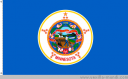 current Minnesota flag